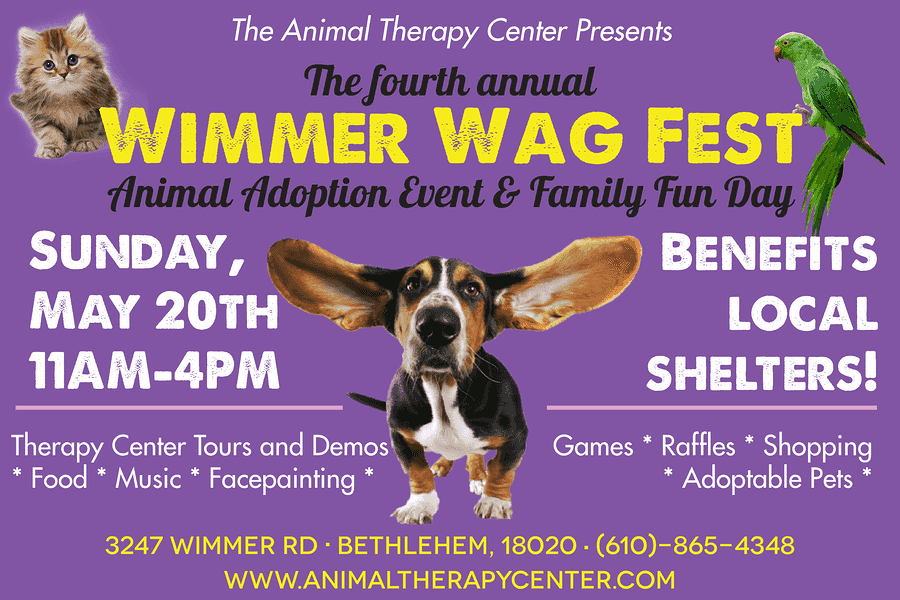 WIMMER WAG FEST AT ANIMAL THERAPY CENTER
